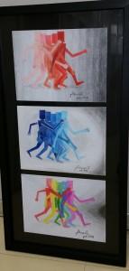 JLDuarte Do passado... lápis de cor s papel 27x64
