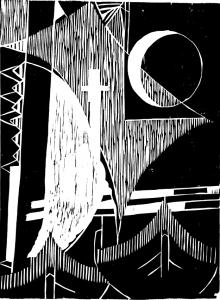 Marrey Peres BARCOS xilogravura s papel 45X34 peq