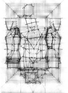 L.A. DE GENARO 01- Desenho - Projeções do Rei