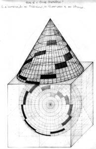 L.A. DE GENARO 03- Desenho - Cone Cromático